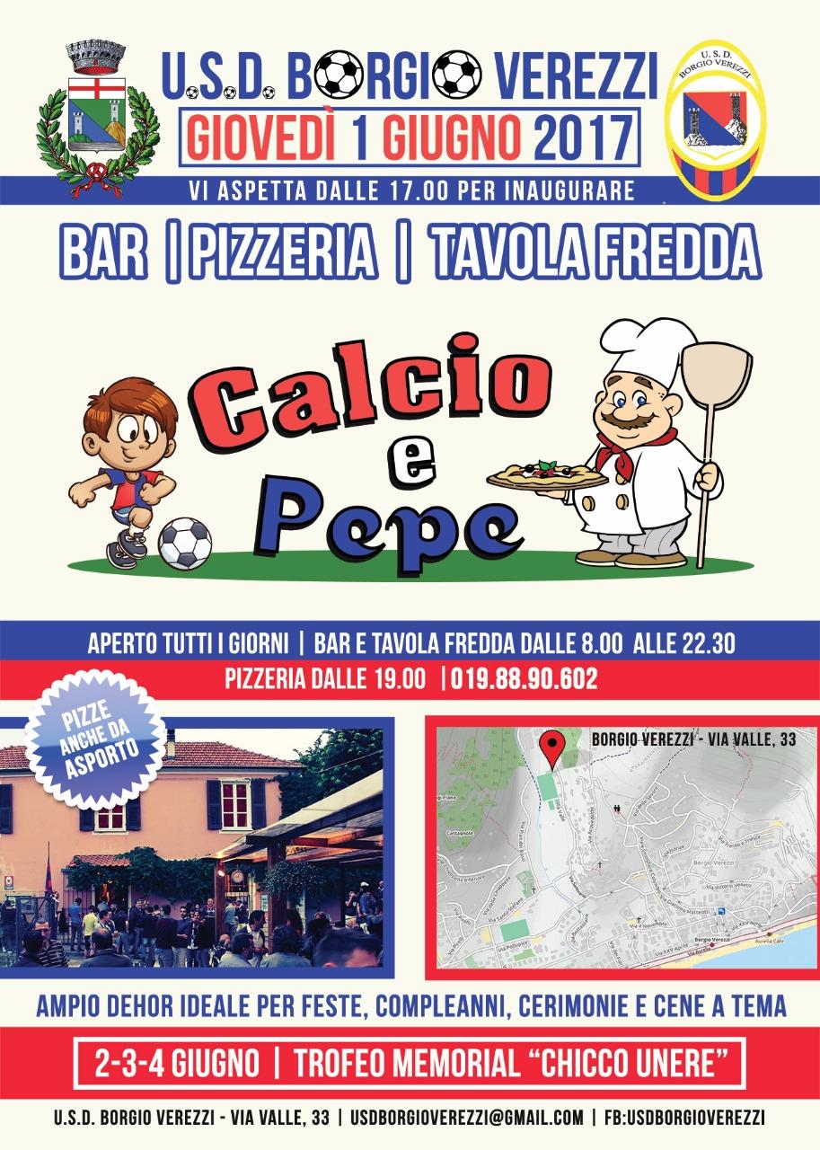 inaugurazione Calcio e Pepe